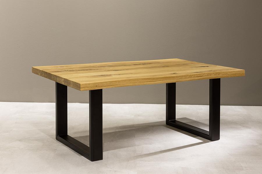 Couchtisch Massivholz Eiche 110 x 70 cm Wohnzimmertisch HAVANNA   0216027800